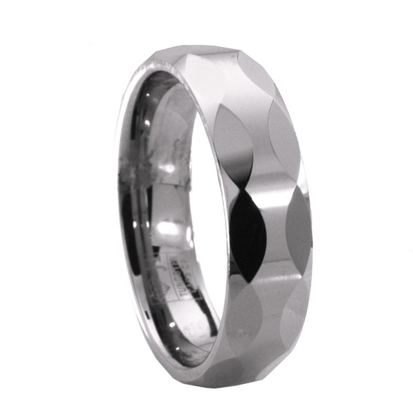 Epic - Tungsten Facet Ring by Jewelry Innovations