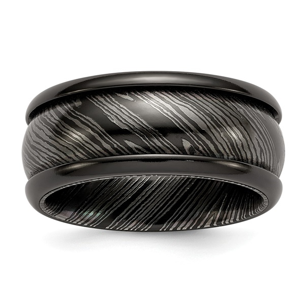 Timoku Tri-Domed Titanium Ring by Edward Mirell
