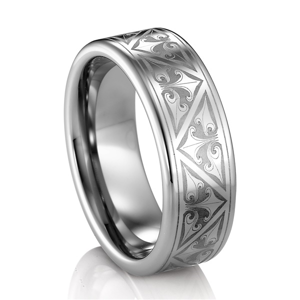 TRITON®  Tungsten Wedding Band - TRION