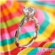 Marnie Twist Engagement Ring by Artcarved