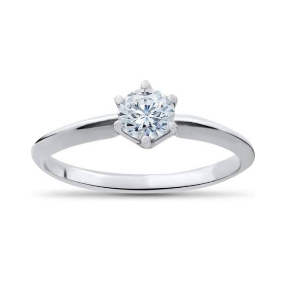 .33ct Round Brilliant Diamond Solitaire Ring