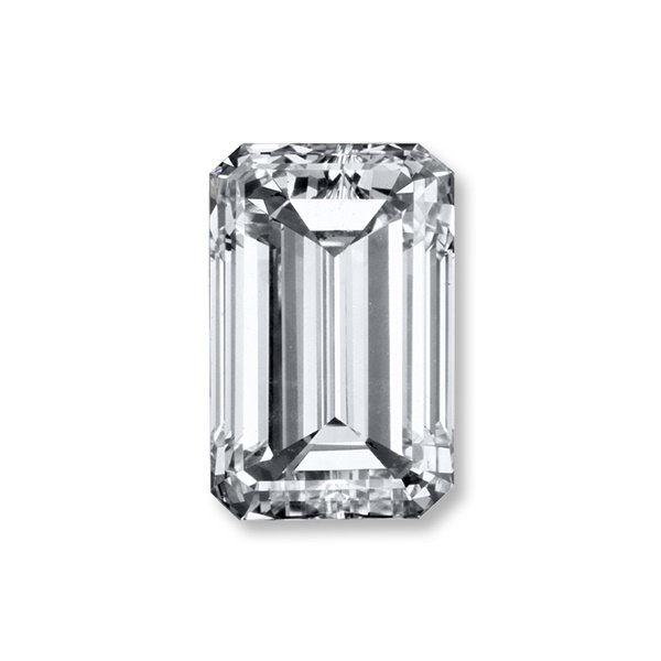 .64ct Emerald Cut Diamond, VVS2, I - GIA