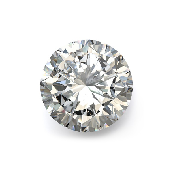 .64ct Round Brilliant Diamond, SI2 Clarity and H color, EGLUSA