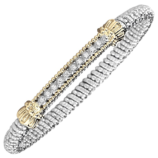 Diamond Bar Bracelet by Alwand Vahan