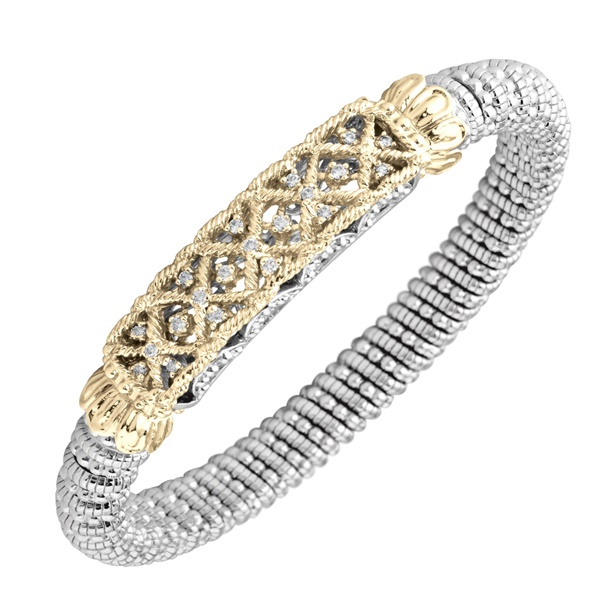 Alwand Vahan Lattice Diamond Bracelet