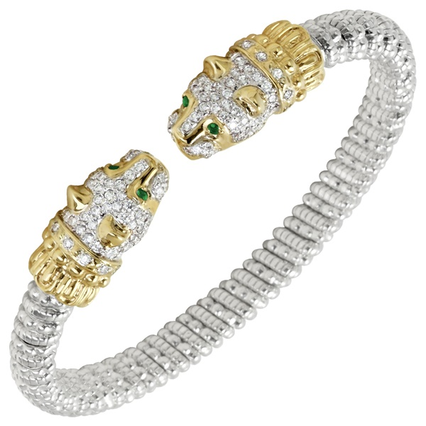 Diamond Jaguar Bracelet by Alwand Vahan