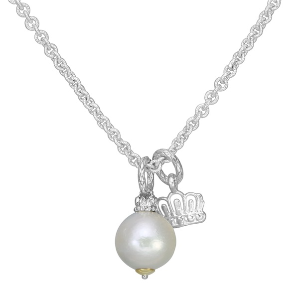 Sterling Silver, 14k Yellow Gold & Pearl Necklace by Alwand Vahan