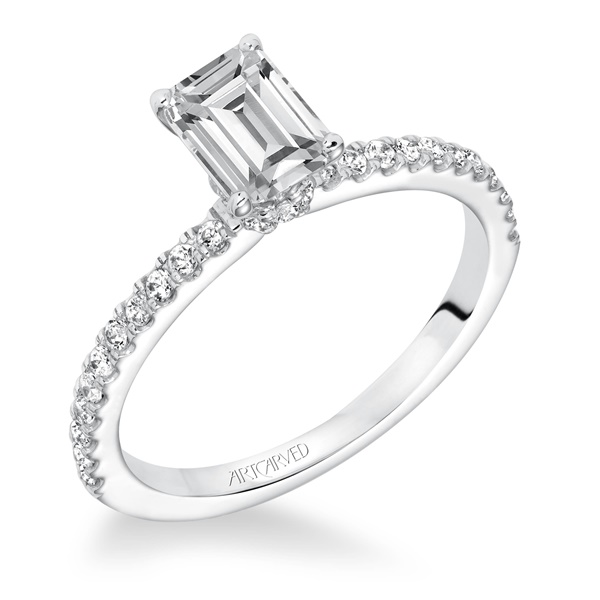 SYBIL Artcarved Diamond Engagement Ring