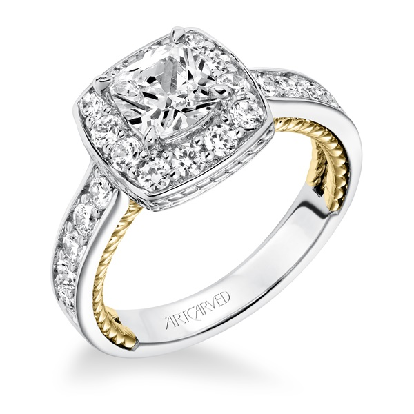 KENZIE ArtCarved Diamond Engagement Ring