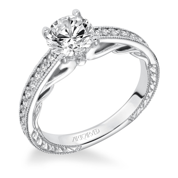 FERM ArtCarved Engagement Ring