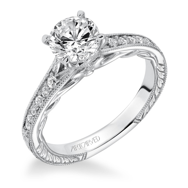 VIOLA ArtCarved Engagement Ring