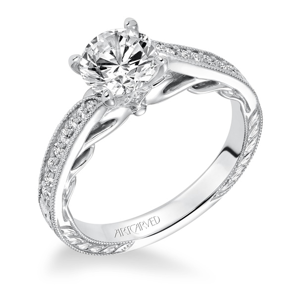 LAVINIA ArtCarved Engagement Ring