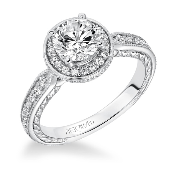 JEMIMA ArtCarved Engagement Ring