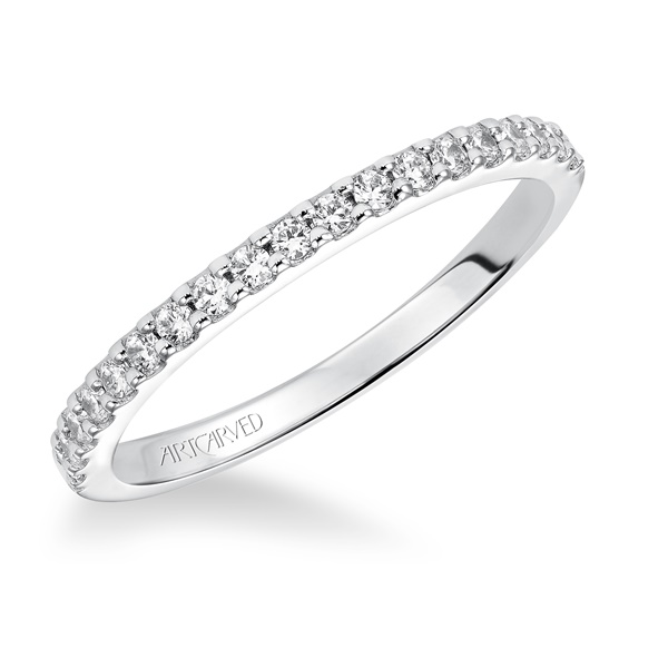 Allison ArtCarved Diamond Wedding Band