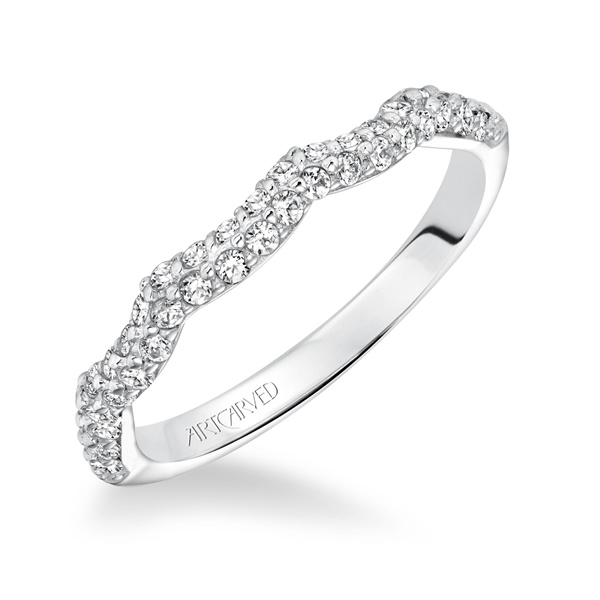 MACKENZIE ArtCarved Diamond Wedding Band