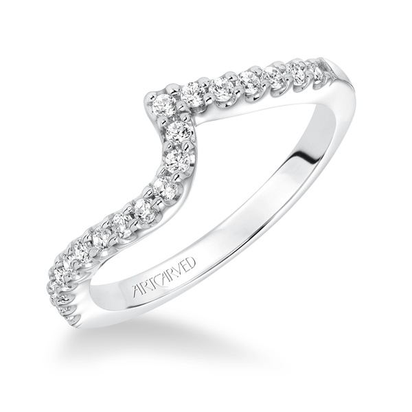 ORLA ArtCarved Matching Diamond Wedding Band