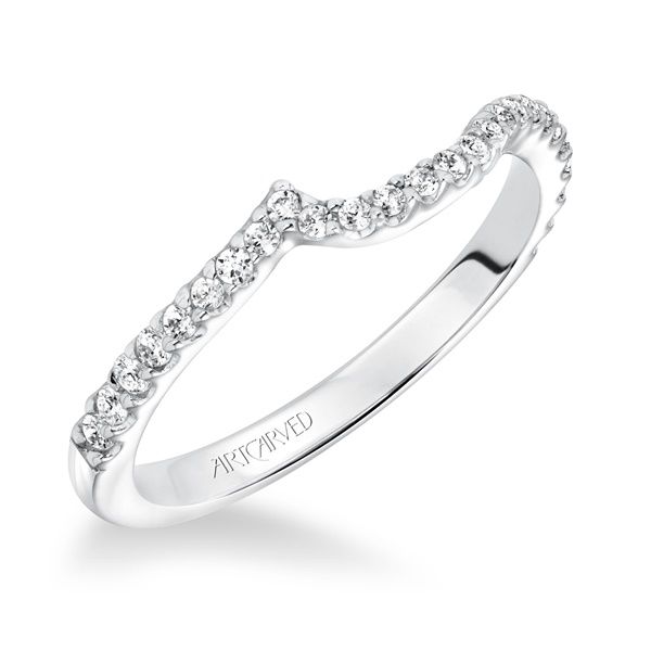 SABRINA ArtCarved Matching Diamond Wedding Band