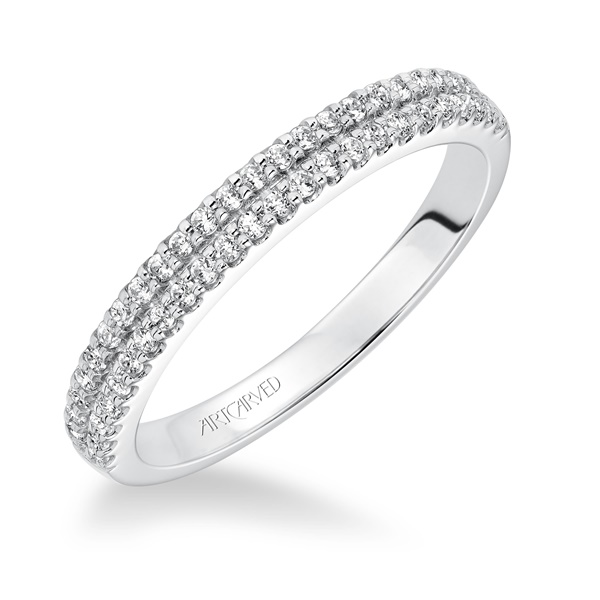 MORGAN ArtCarved Diamond Band
