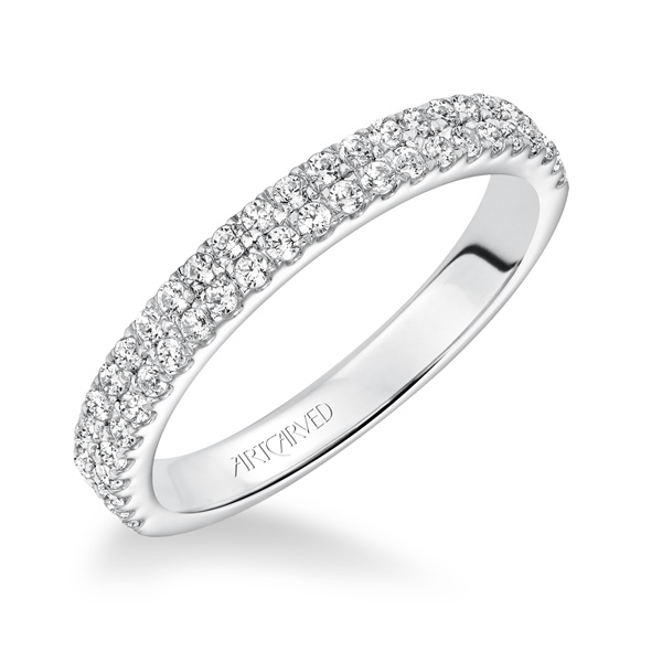 PIPPA ArtCarved Diamond Band