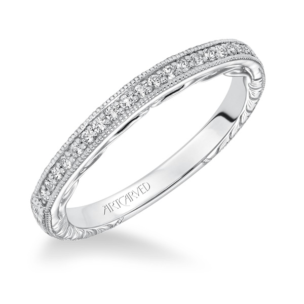 VIOLA ArtCarved Diamond Band