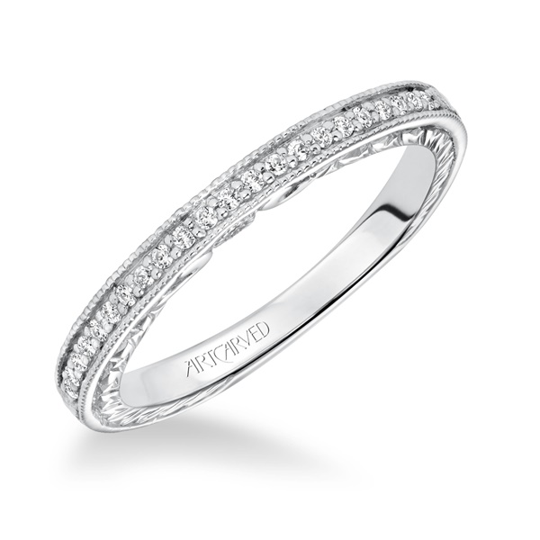 PRIMROSE ArtCarved Diamond Band