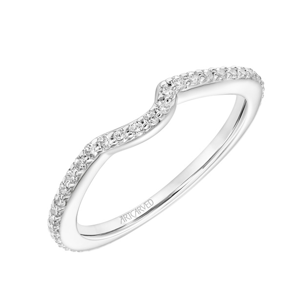Zola ArtCarved Diamond Wedding Band