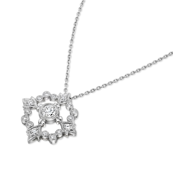 Beverley K Diamond Compass Necklace