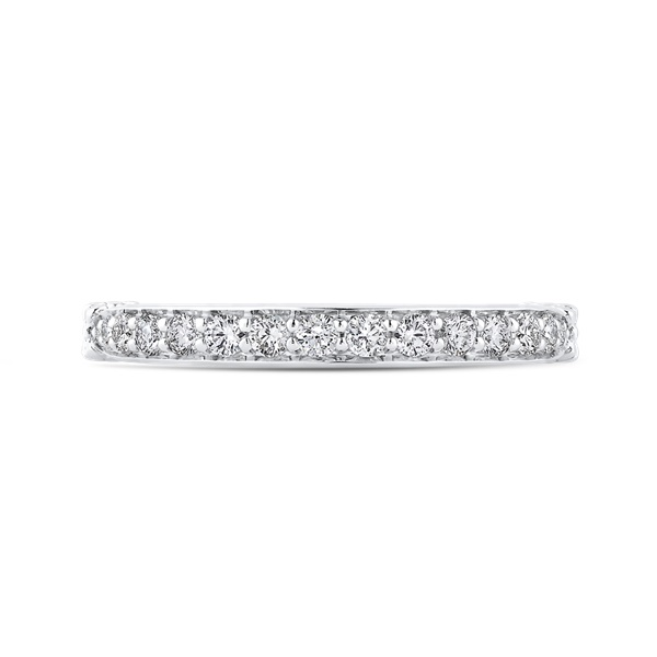 Carizza Bow Detail Diamond Wedding Band