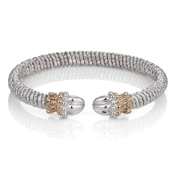 Alwand Vahan Sterling Silver and 14K Gold Bracelet - 20679
