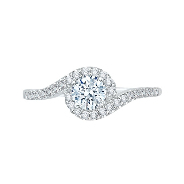 Promezza White Gold Engagement Ring