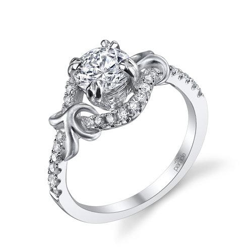 Lyria Vine Diamond Engagement Ring by Parade