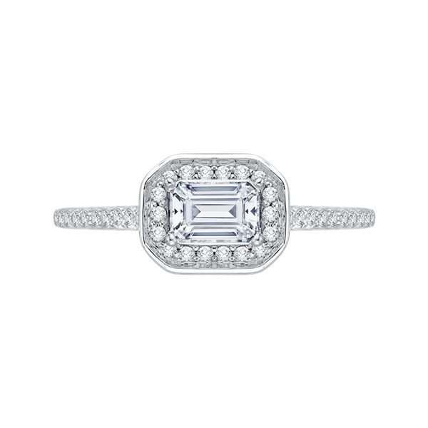 Promezza White Gold Diamond Engagement Ring