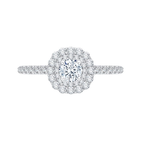 Promezza Cluster Diamond Engagement Ring
