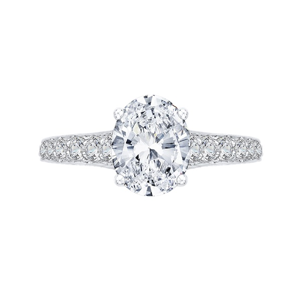 Boutique White Gold Diamond Engagement Ring