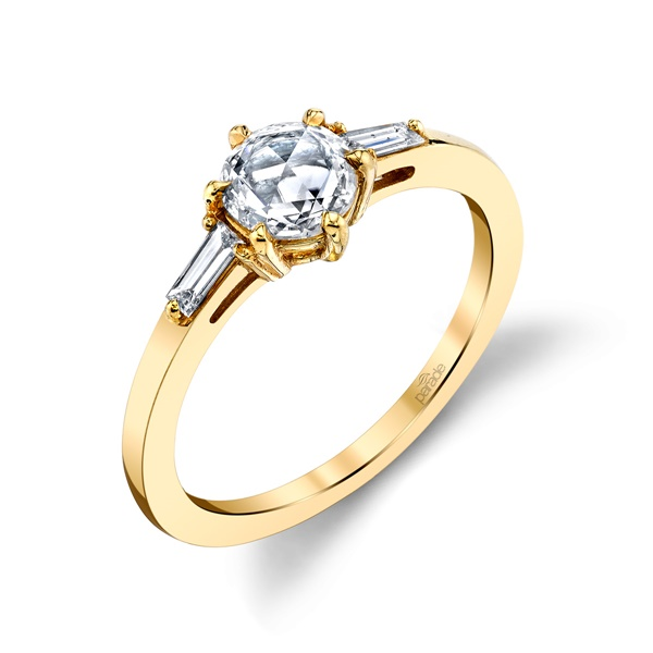 18kt Yellow Gold and Diamond Engagement Ring by Parade