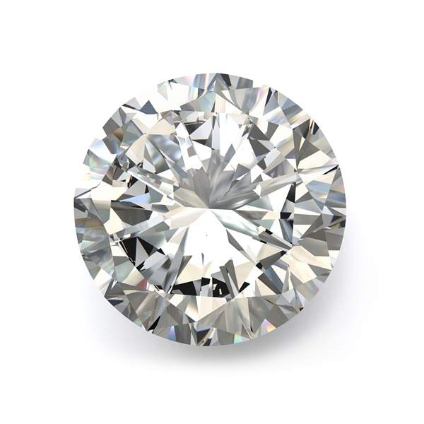 1.03ct Round Brilliant Diamond H / I1
