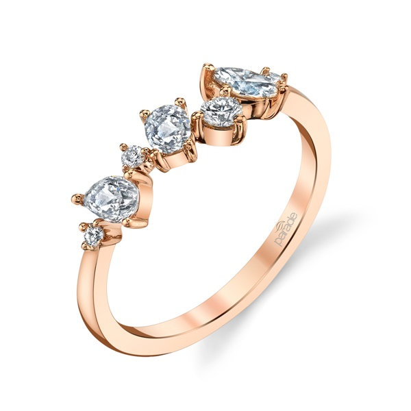 18kt Rose Gold and Diamond Ring by Parade