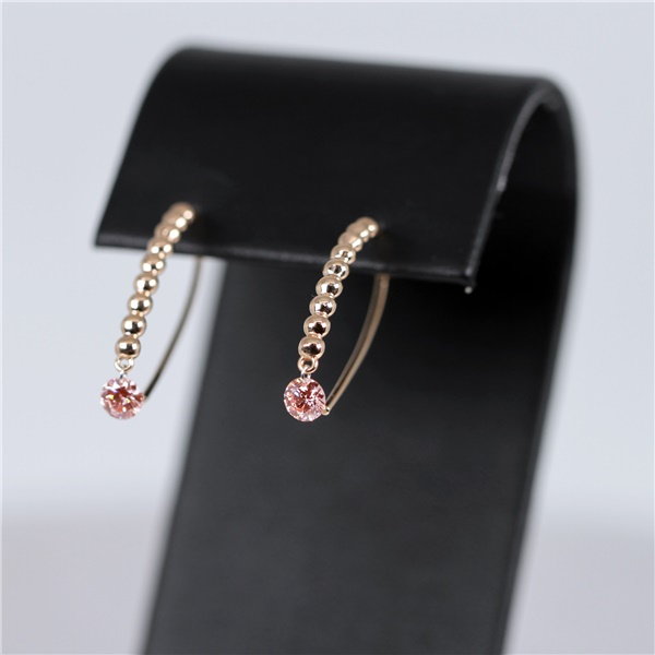 Bare Diamonds Pink Diamond Drop Earrings - 1/2ctw