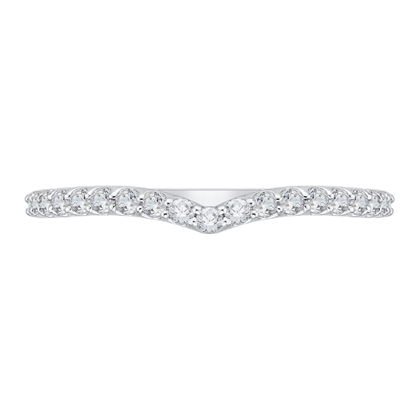 Carizza Pointed Diamond Wedding Band