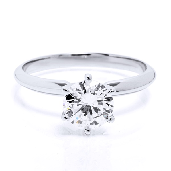1.02ct Round Brilliant Diamond G / I1 EGL USA