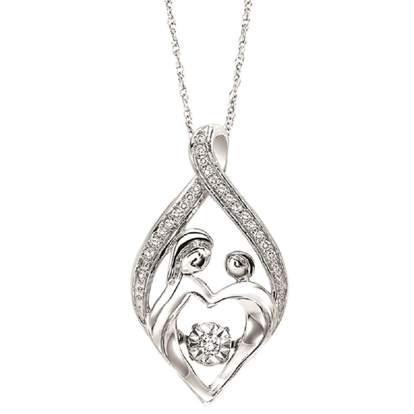 Mother and Child Pendant by Rhythm of Love