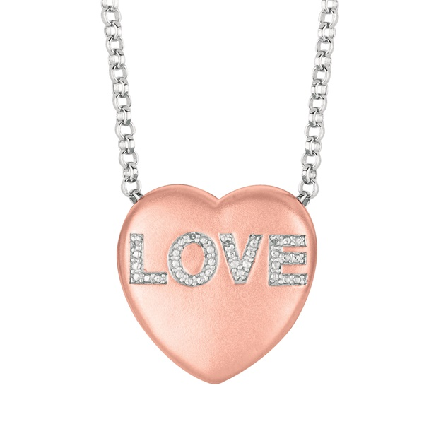 "Sweethearts Diamond ""LOVE"" Necklace"