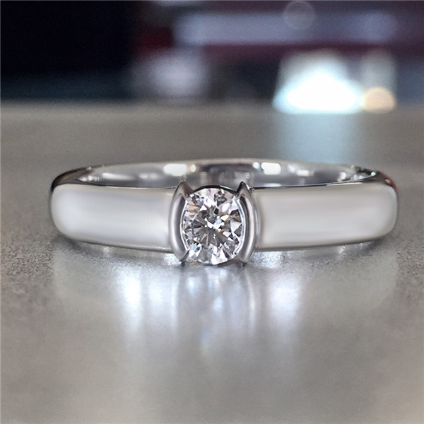 Tiffany & Co. Platinum Diamond Etoile Ring