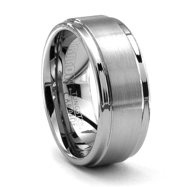 ALTO Tungsten Wedding Band by Triton