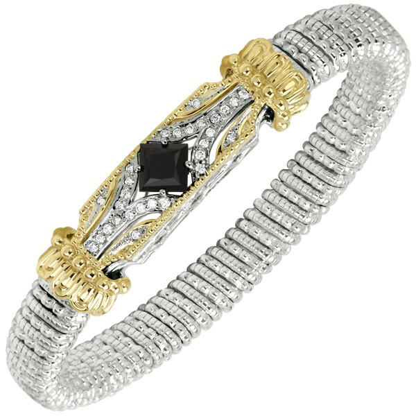 Vahan Black Onyx and Diamond Bracelet